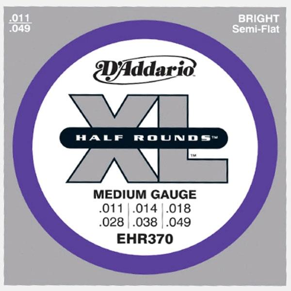 D'Addario - EHR370 Half Rounds Medium 11-49