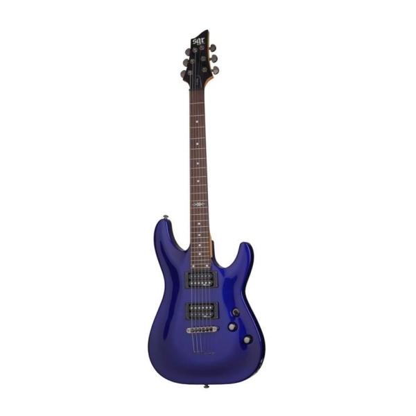 SGR - [SGR3804] Chitarra elettrica C-1 - Blu metallizzato