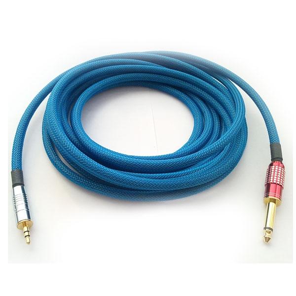 Thender - Cavo jack ø3,5mm stereo M > jack ø6,3mm mono M 5mt [EMP.5]