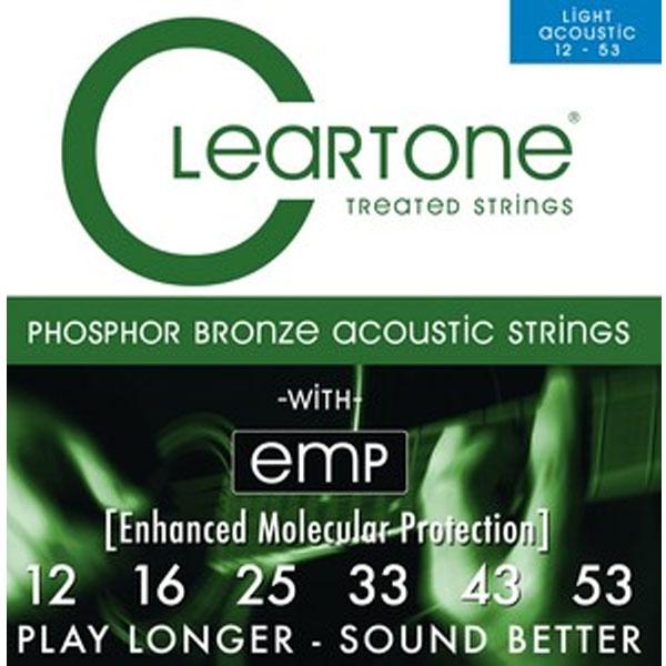 Cleartone - CL-7412 Fosforo/Bronzo Chitarra acustica 12-53