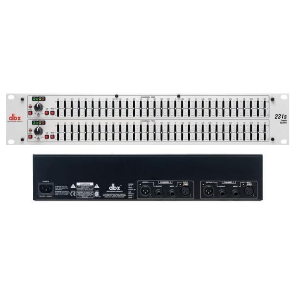 DBX - 231S Equalizzatore grafico 31 bande