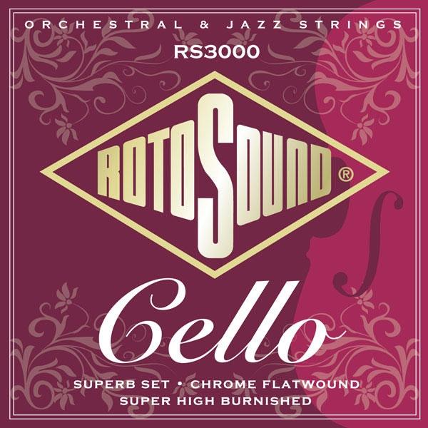 Rotosound - Orchestral - RS3000 Corde per violoncello 22-63