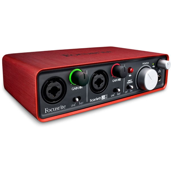 Focusrite - [SCARLETT 2i2] Interfaccia audio USB