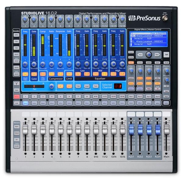PreSonus - [StudioLive 16.0.2] Mixer digitale 16 canali (custodia omaggio)