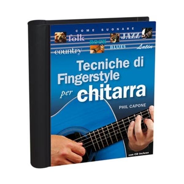 Il Castello Editore - Capone P. - Tecniche di Fingerstyle per Chitarra (9788865200391)