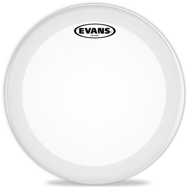 "Evans - EQ3 Frosted Bass - BD22GB3C 22"" EQ3 Frosted Bass"