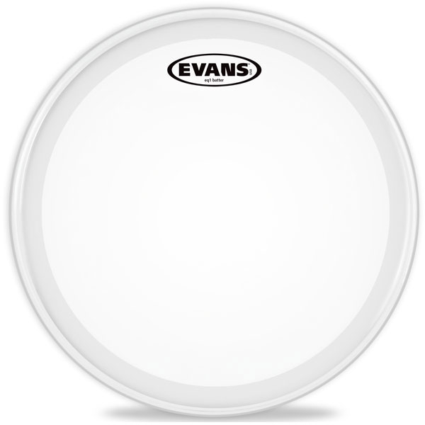 "Evans - BD22GB1C 22"" EQ1 Frosted Bass"