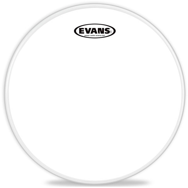 "Evans - Power Center Reverse Dot - B13G1RD 13"" Power Center Reverse Dot Snare"