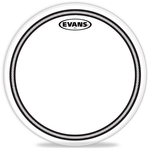 """Evans - EC2S Clear - TT16EC2S 16"""" EC2 Clear Tom"""