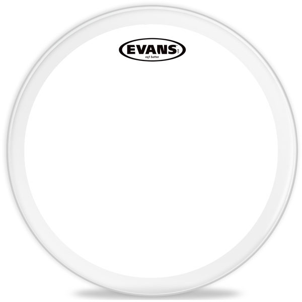 "Evans - EQ1 Clear - BD22GB1 22"" EQ1 Clear Bass"