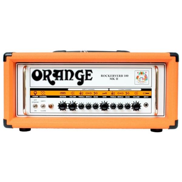 Orange - [RR100H-DIVO] Testata VALVOLARE100 w Rockerverb, DIVO equipped