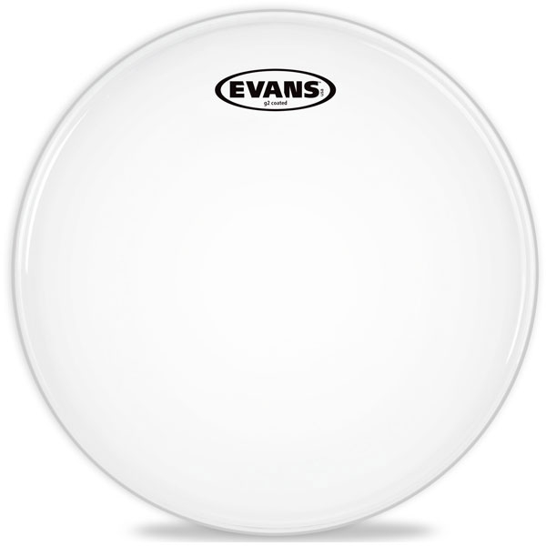 "Evans - G2 Coated - B08G2 8"" G2 Coated Tom"