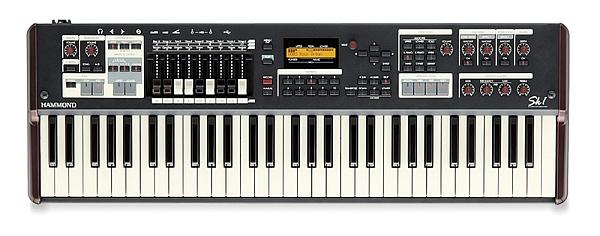 Hammond - [SK1] Organo professionale con singola tastiera 61 tasti