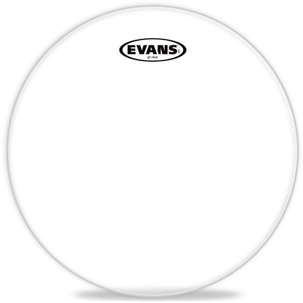 "Evans - G1 Clear - TT08G1 8"" G1 Clear Tom"