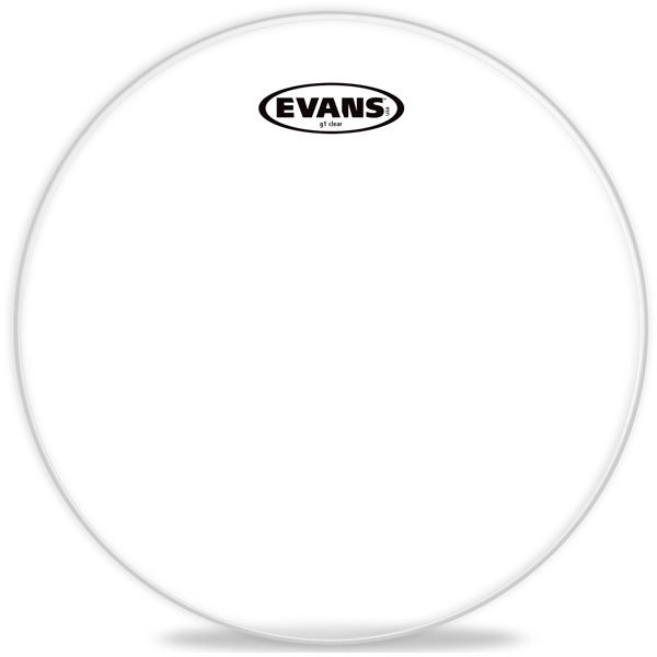"""Evans - G1 Clear - TT12G1 12"""" G1 Clear Snare/Tom/Timbale"""