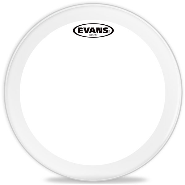"""Evans - EQ2 Clear - BD18GB2 18"""" EQ2 Clear Bass"""