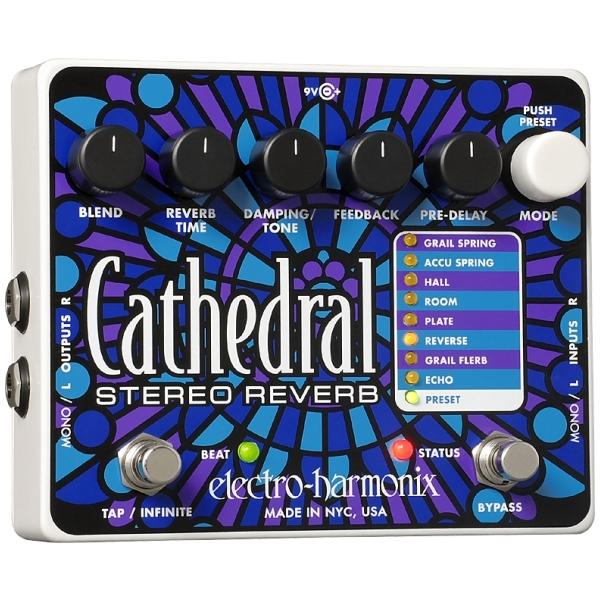 Electro Harmonix - Cathedral - Reverbero Stereo