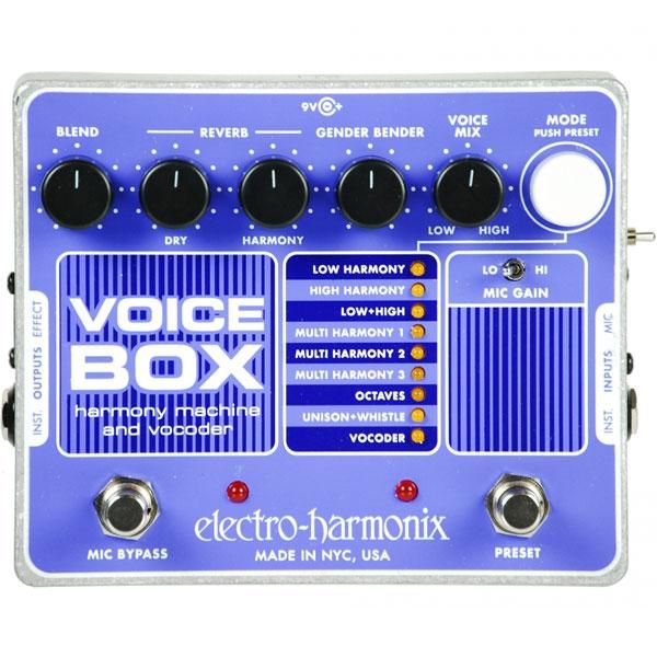 Electro Harmonix - [VOICE BOX] Pedale multieffetto per voce