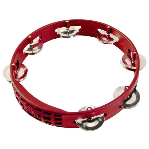 "Lp Latin Percussion - LPA181 LP Aspire Tambourine, 8"", Red"