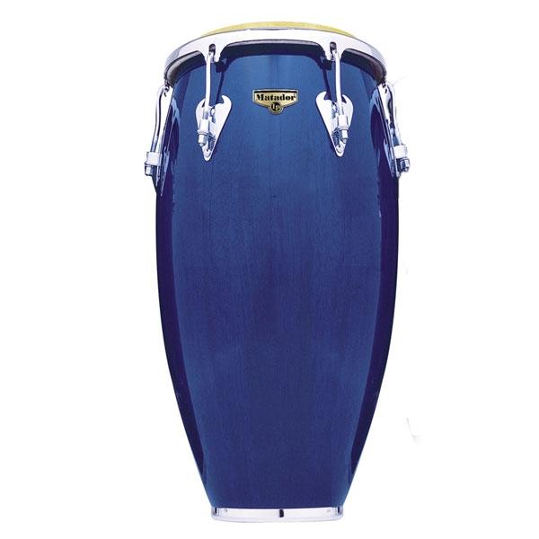 "Lp Latin Percussion - M754-BLWC Matador Wood 12-1/2"" Tumbadora Blue"