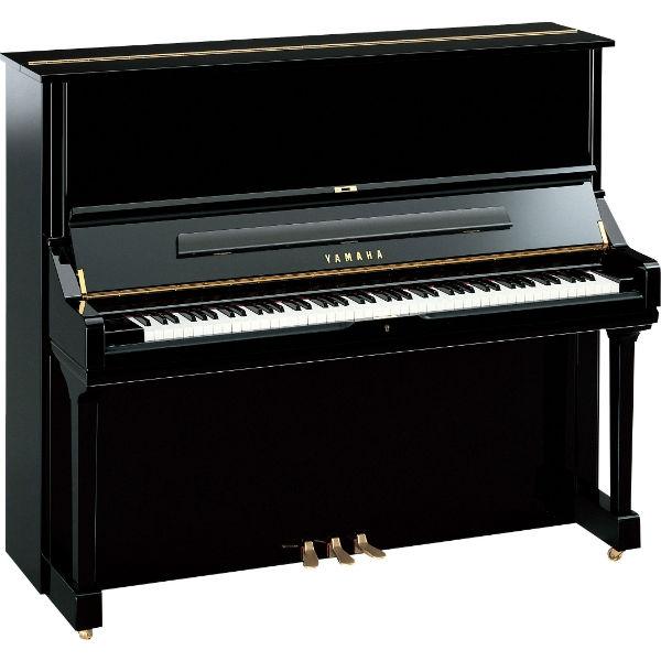 Yamaha - [U3H] 2956857 Pianoforte Verticale Rigenerato Polished Ebony 2956857