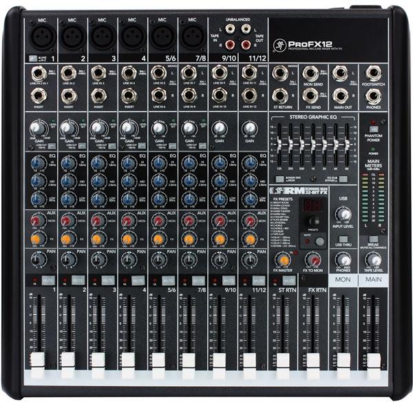 Mackie - [PROFX12] Mixer 12 canali con effetti e USB