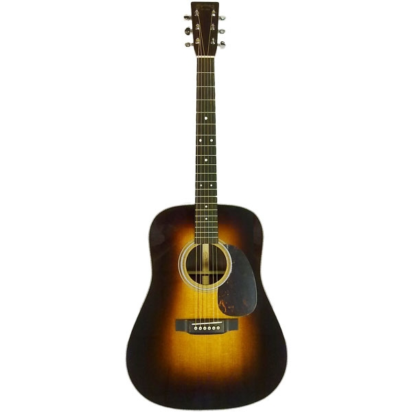 Martin - Standard series - [HD-28 1935] Chitarra acustica folk elettrificata Sunburst 1935 con Thinline