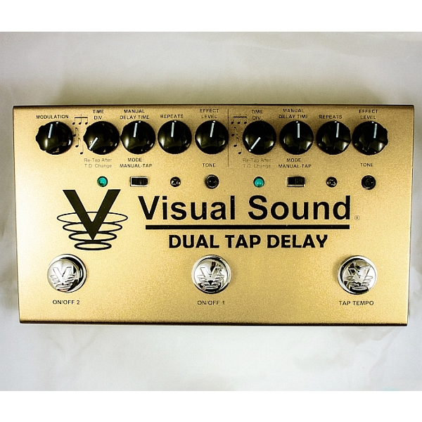 Visual Sound - V3 Series - Dual Tap Delay