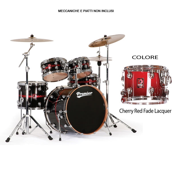 Premier - Genista Birch - 4329937CRF Studio 22 - Cherry Red Fade Lacquer