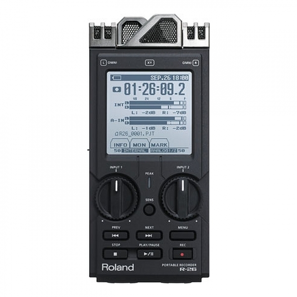 Roland - R26 3-WAY REGISTRATORE PORTATILE