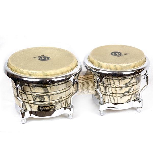 Lp Latin Percussion - [5550070268] Bongos Chrome Hardware