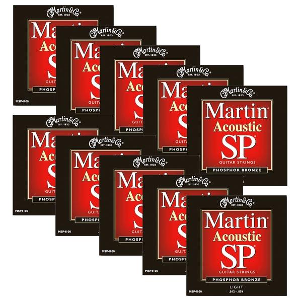 Martin - SP - MSP4100 - SP 92/8 Phosphor Bronze Chitarra Acustica .012-.054 (12xSet)