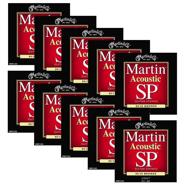 Martin - SP - MSP3100 - SP 80/20 Bronze Chitarra Acustica .012-.054 (12xSet)
