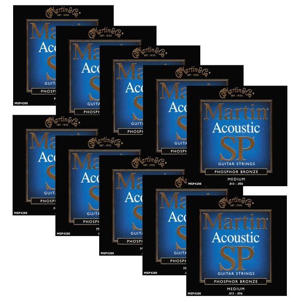 Martin - SP - MSP4200 - SP 92/8 Phosphor Bronze Chitarra Acustica .013-.056 (12xSet)