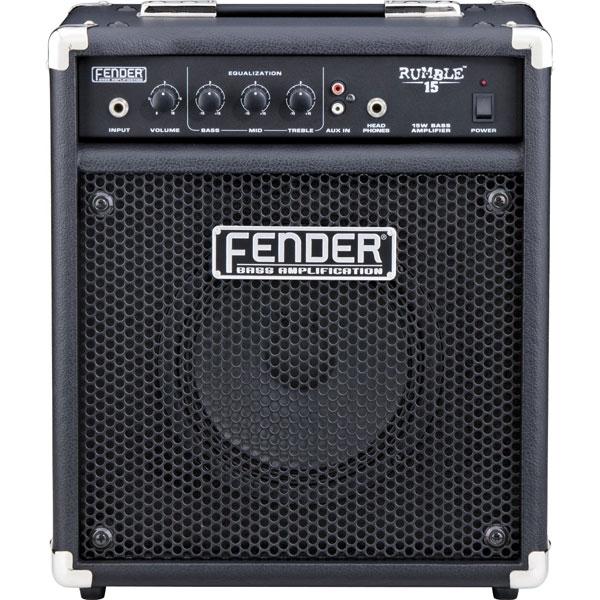 Fender - [RUMBLE 15] Amplificatore combo per basso 15W