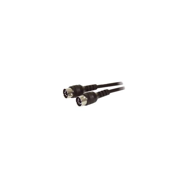 Alpha Elettronica - Cavo 5 poli DIN 41524 maschio > 5 poli DIN 41524 maschio 1,5mt [5-004]