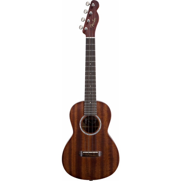 Fender - [0955620021] Ukulele Pa'ina- Solid Mahogany with Electronics