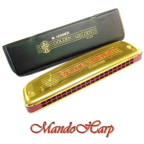 Hohner - ARMONICA GOLDEN MELODY DO 2416/40