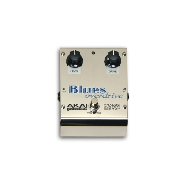 "Akai - ""BLUES OVERDRIVE"" - Pedale overdrive x chitarra"