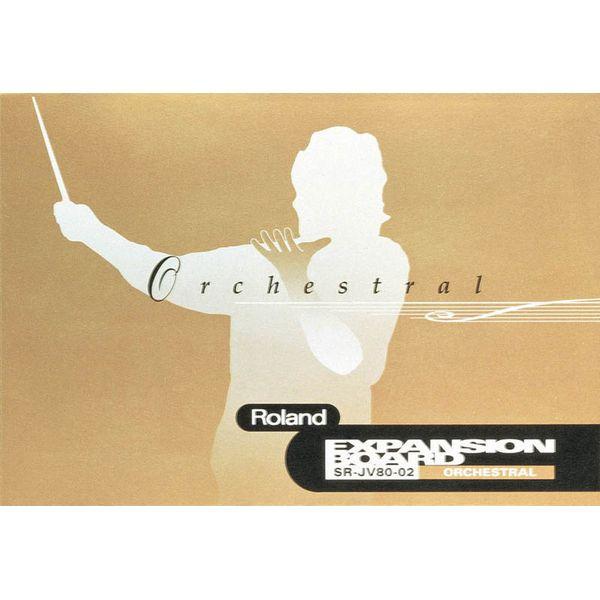 Roland - Sr-jv80-02 Orchestral expansion board