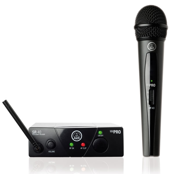 Akg - [WMS 40 PRO MINI] Vocal set ISM1 (863.100 MHz)