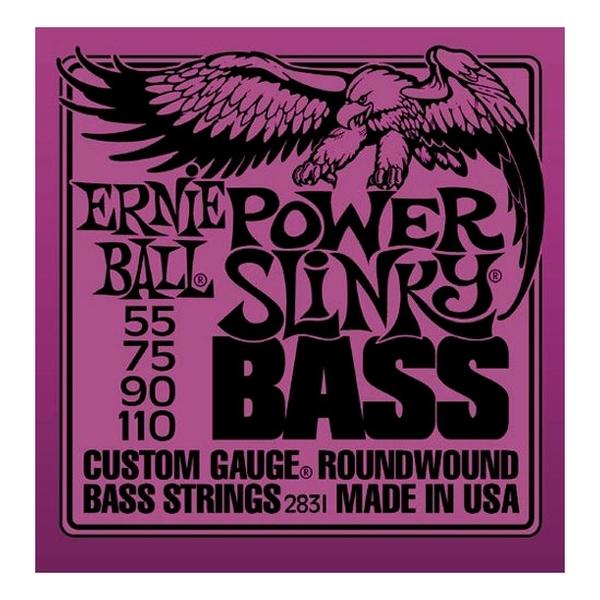 Ernie Ball - [2831] Power Slinky 55-110 x basso elettrico