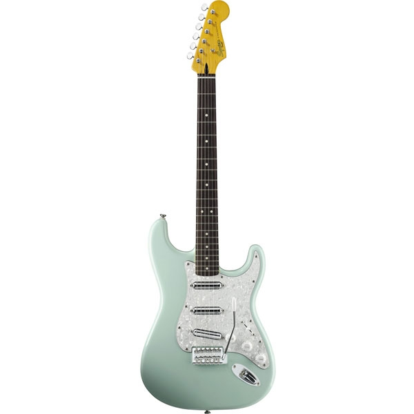 Fender - Squier Vintage Modified - Stratocaster Surf Surf Green Rosewood [0301220557]
