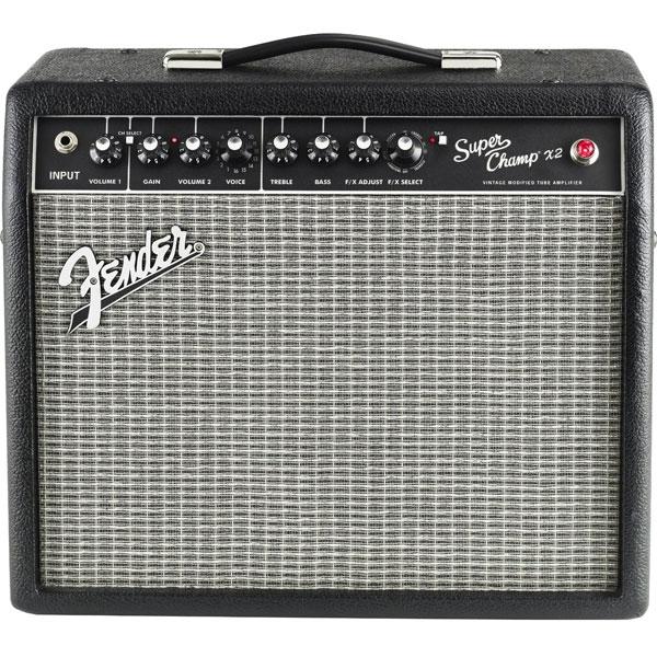 Fender - [SUPER CHAMP X2 COMBO] Amplificatore combo per chitarra 15W