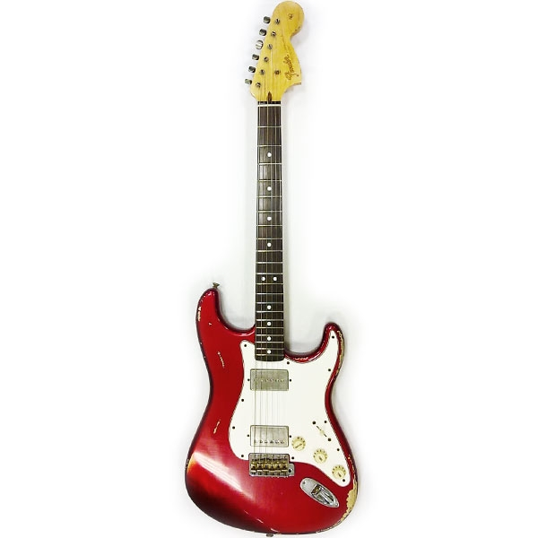 Fender - Custom Shop Master Built - Stratocaster 60 Relic by Denis Galuszka Candy Apple Red Rosewood [9216000870]