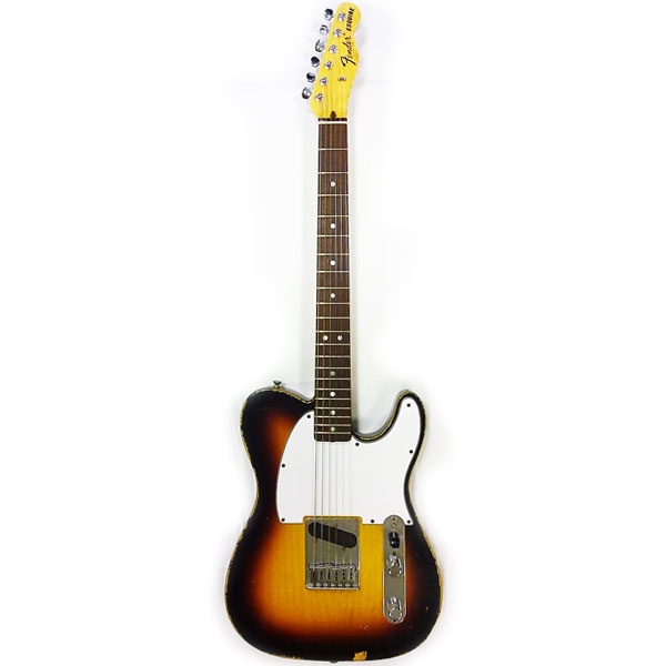 Fender - Custom Shop Master Built - Esquire 1970 Relic by Mark Kendrick Sunburst Rosewood [9216000055]