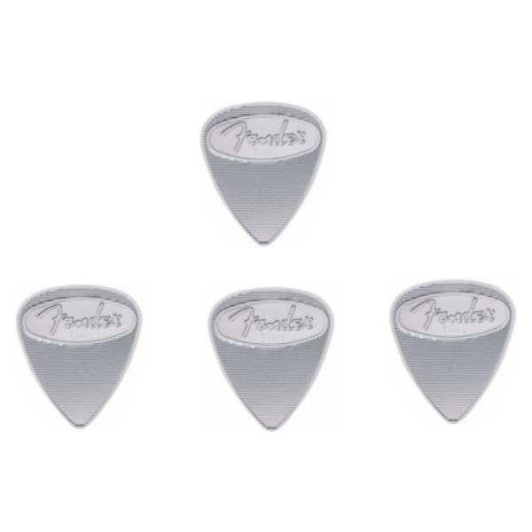 Fender - [0982351700] Kit di quattro plettri 351 Thin Acciaio