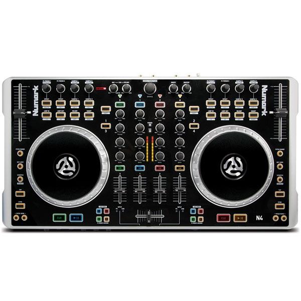 Numark - [N4] Controller per DJ con mixer 4 canali e USB