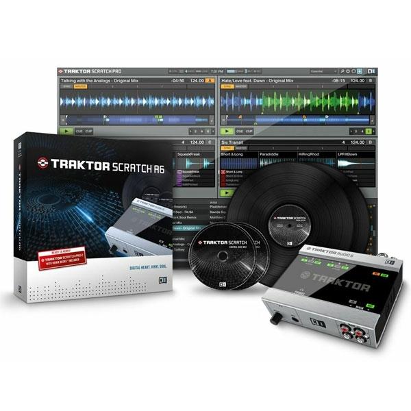 Native Instruments - Traktor - [SCRATCH A6] Sistema professionale di mixaggio timecode 6x IN / 6x OUT