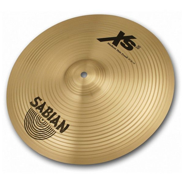 Sabian - [XS1607B] XS20 Mediun Thin Crash 16